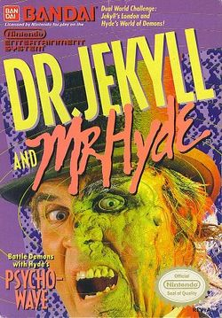 Box artwork for Dr. Jeckyll and Mr. Hyde.