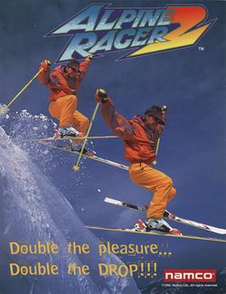 Box artwork for Alpine Racer 2.