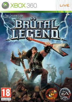 Box artwork for Brütal Legend.