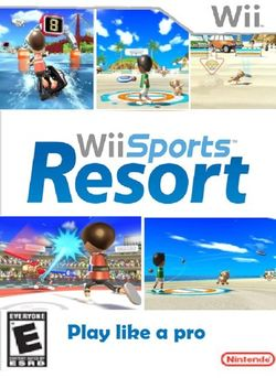 Box artwork for Wii Sports Resort.