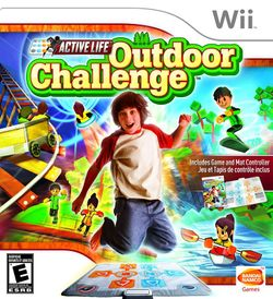 Box artwork for Active Life: Outdoor Challenge.