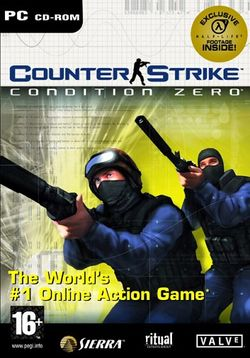 Box artwork for Counter-Strike: Condition Zero.