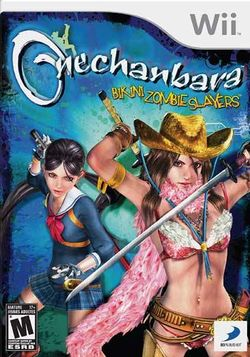Box artwork for OneChanbara: Bikini Zombie Slayers.