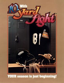 Box artwork for 10-Yard Fight.