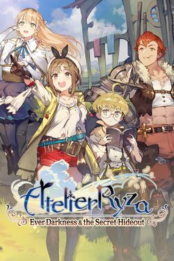 Box artwork for Atelier Ryza: Ever Darkness & the Secret Hideout.