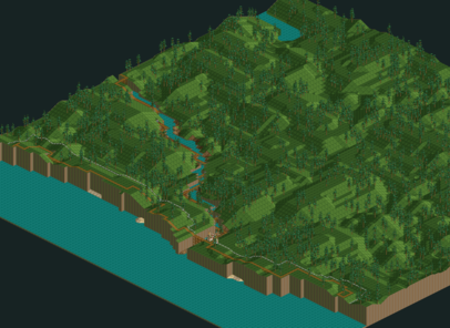 RollerCoaster Tycoon/Whispering Cliffs — StrategyWiki, the