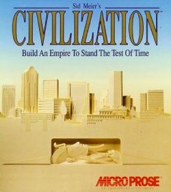 Box artwork for Civilization.