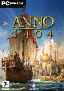 Box artwork for Anno 1404.