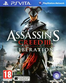 Box artwork for Assassin's Creed III: Liberation.