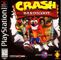 Box artwork for Crash Bandicoot.