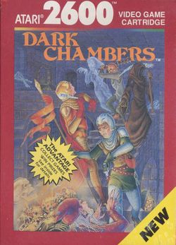 Box artwork for Dark Chambers.
