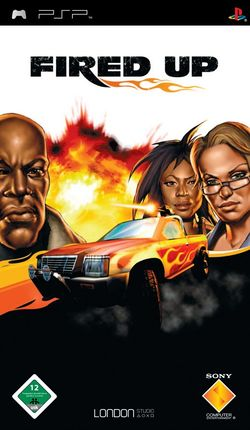 Box artwork for Fired Up.