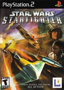 Box artwork for Star Wars: Starfighter.