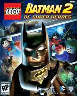 Box artwork for LEGO Batman 2: DC Super Heroes.