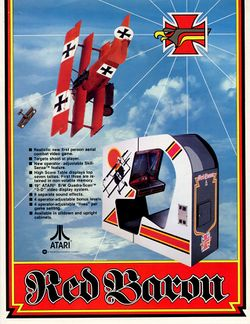 Box artwork for Red Baron.