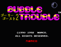 Bubble Trouble Golly! Ghost! 2 title screen.png