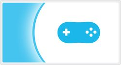 The logo for Wii Virtual Console.