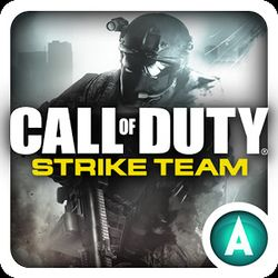 Box artwork for Call of Duty: Strike Team.