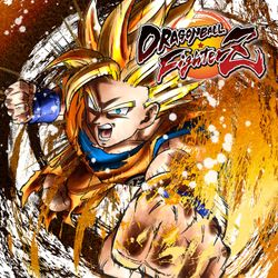 Box artwork for Dragon Ball FighterZ.