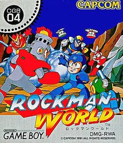 Box artwork for Mega Man: Dr. Wily's Revenge.