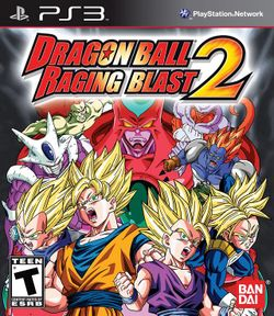 Box artwork for Dragon Ball: Raging Blast 2.