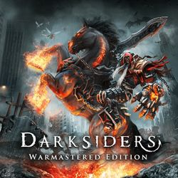 Box artwork for Darksiders: Warmastered Edition.