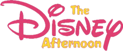 The logo for Disney Afternoon.
