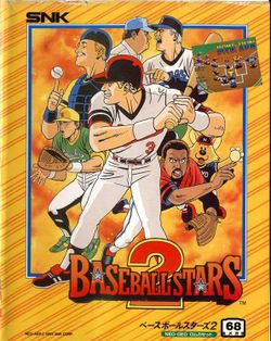 Box artwork for Baseball Stars 2.