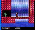 Clash at Demonhead NES waterfall statue.png