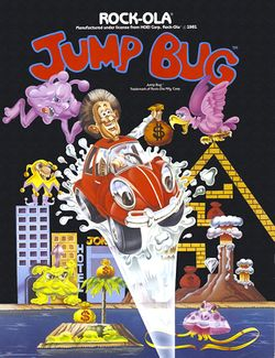 Box artwork for Jump Bug.