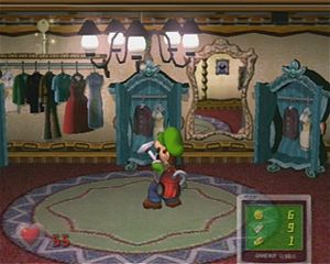 Luigi S Mansion Area 1 Strategywiki The Video Game Walkthrough And Strategy Guide Wiki