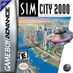Box artwork for SimCity 2000.