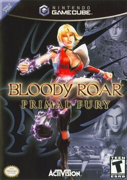 Box artwork for Bloody Roar: Primal Fury.