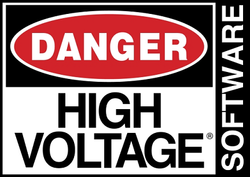 High Voltage Software's company logo.