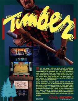 Box artwork for Timber.