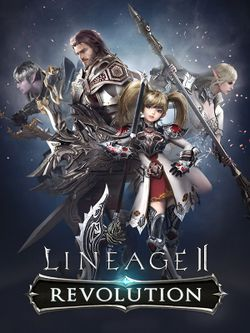Box artwork for Lineage 2 Revolution.