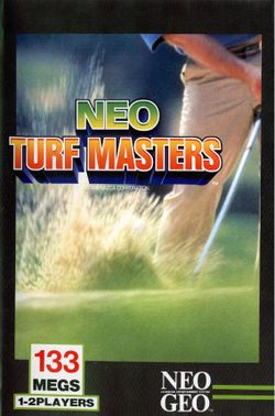 Box artwork for Neo Turf Masters.