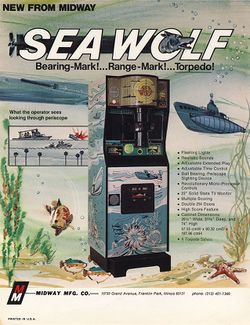 Box artwork for Sea Wolf.