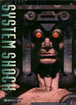 Box artwork for System Shock.