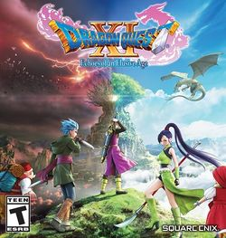 Box artwork for Dragon Quest XI: Echoes of an Elusive Age.