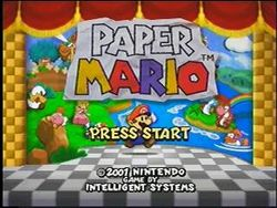 Paper Mario Strategywiki The Video Game Walkthrough And Strategy