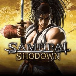 Box artwork for Samurai Shodown (2019).