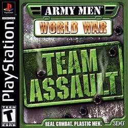 Box artwork for Army Men: World War - Team Assault.