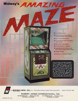 Box artwork for Amazing Maze.