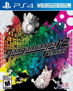 Box artwork for Danganronpa 1-2 Reload.