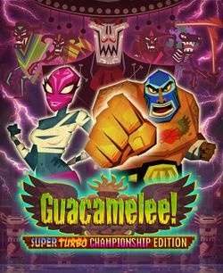 Box artwork for Guacamelee!.