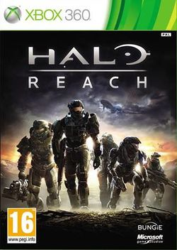 Box artwork for Halo: Reach.
