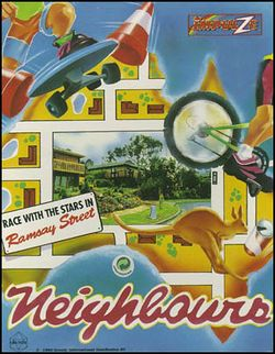 Box artwork for Neighbours.