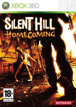 Box artwork for Silent Hill: Homecoming.