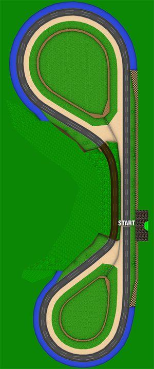 Mario Kart 64 Luigi Raceway Strategywiki The Video Game
